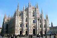 Milán y sus espectaculares monumentos