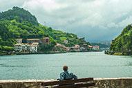 Pueblos de la costa guipuzcoana