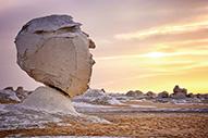 El desierto blanco de Egipto