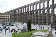 Acueducto romano de Segovia, una impresionante obra de ingeniería
