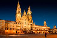 Catedral de Santiago de Compostela, joya arquitectónica y meta de los peregrinos